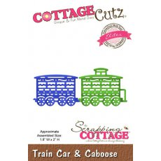 CCE-149 Wykrojnik CottageCutz Train Car & Caboose (Elites)-pociąg #2
