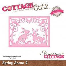 CCE-225 Wykrojnik CottageCutz Spring Scene 2 (Elites)
