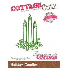 CCE-329 Wykroniki CottageCutz Holiday Candles (Elites)