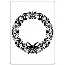 CTFD4016 Folder do embossingu Christmas Wreath