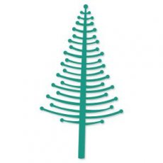 CO723908 Wykrojnik choinka- Merry Little Christmas Collection Christmas Bubble Tree