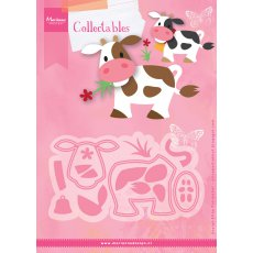 COL1426 Marianne Design Collectable -krowa