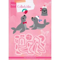COL1432 Marianne Design Collectable - Eline's foki