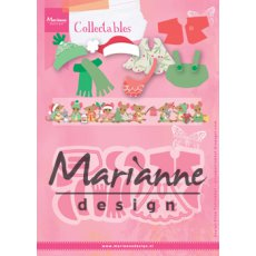 COL1438 Marianne Design Collectable - Eline\'s mice clothes-ubranka myszek