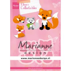COL1474 Wykrojnik Collectable Eline's Cute Fox - lis