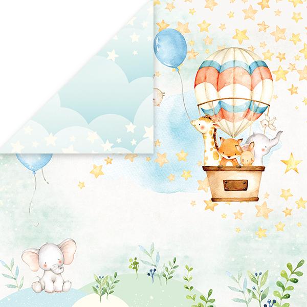 CP-BA01 Papier dwustronny Craft&You Design 30,5x30,5 Baby Adventure 01