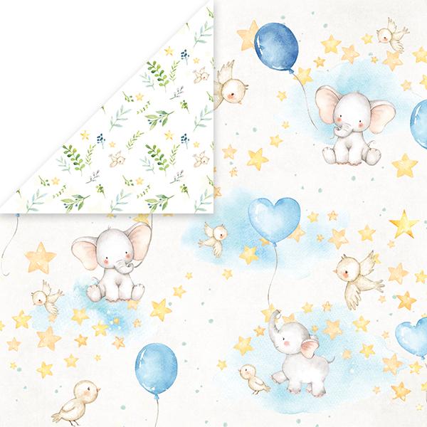 CP-BA02 Papier dwustronny Craft&You Design 30,5x30,5 Baby Adventure 02