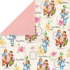 CP-BP04 Papier dwustronny Craft&You Design 30,5x30,5 Birthday Party 04
