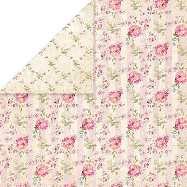 CP-BR05 Papier dwustronny Craft&You Design 30,5x30,5 Bellissima Rosa 05