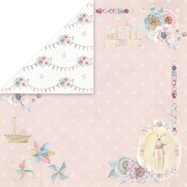 CP-BW03 Papier dwustronny Craft&You Design 30,5x30,5 Baby World 03