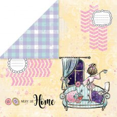 CP-SAH03 Papier dwustronny Craft&You Design 30,5x30,5 Stay at Home 03