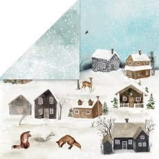CP-WH01 Papier dwustronny Craft&You Design 30,5x30,5 WINTER HOLIDAY 01
