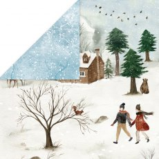 CP-WH05 Papier dwustronny Craft&You Design 30,5x30,5 WINTER HOLIDAY 05