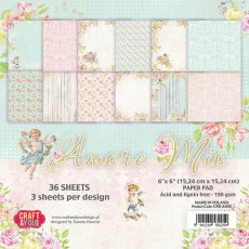 CPB-AM15 Bloczek 15x15 Craft & You Design -Amore Mio
