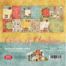 CPB-CC15 Bloczek 15x15 Craft&You Design-COLORS of CHRISTMAS