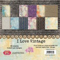 CPB-ILV15 Bloczek 15x15 Craft & You Design -  I Love Vintage