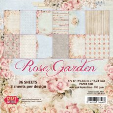 CPB-RG15 Bloczek 15x15 Craft & You Design Rose Garden