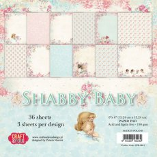 CPB-SB15 Bloczek 15x15 Craft & You Design -Shabby Baby