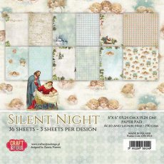 CPB-SN15 Bloczek 15x15 Craft & You Design Silent Night