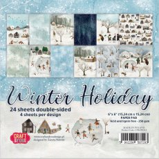 CPB-WH15 Bloczek 15x15 Craft&You Design-WINTER HOLIDAY