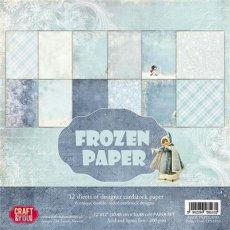 CPS-FP30 Zestaw papierów 30,5x30,5 cm Craft&You Design- Frozen Paper
