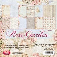 CPS-RG30 Zestaw papierów 30,5x30,5 cm Craft&You Design-Rose Garden