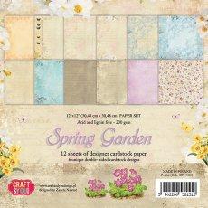 CPS-SG30 Zestaw papierów 30,5x30,5 cm Craft&You Design-Spring Garden