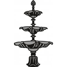 CR1300 Wykrojnik Marianne Design Craftable - Fountain