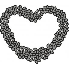 CR1302 Wykrojnik Marianne Design Craftable - Topiary Heart