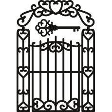 CR1304 Wykrojnik Marianne Design Craftable - Garden Gate