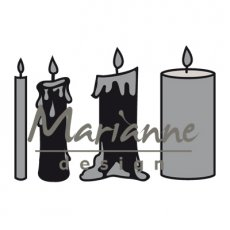 CR1426 Wykrojniki Craftables -Candles set-świece
