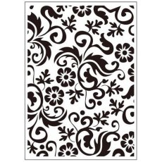 CTFD3064 Folder do embossingu (10.5 x 15cm) - Flower Flourish