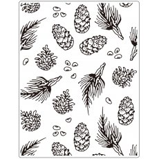 CTFD3111 Folder do embossingu-Pine  (14.6 x 19 cm)