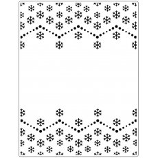 CTFD3115 Folder do embossingu Snowflake (14.6 x 19 cm)