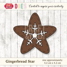 CW026 Wykrojnik Gingerbread Star-piernik gwiazdka Craft&You Design