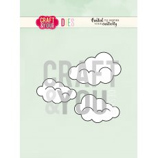 CW087 WYKROJNIK-Clouds-chmurki Craft&You Design