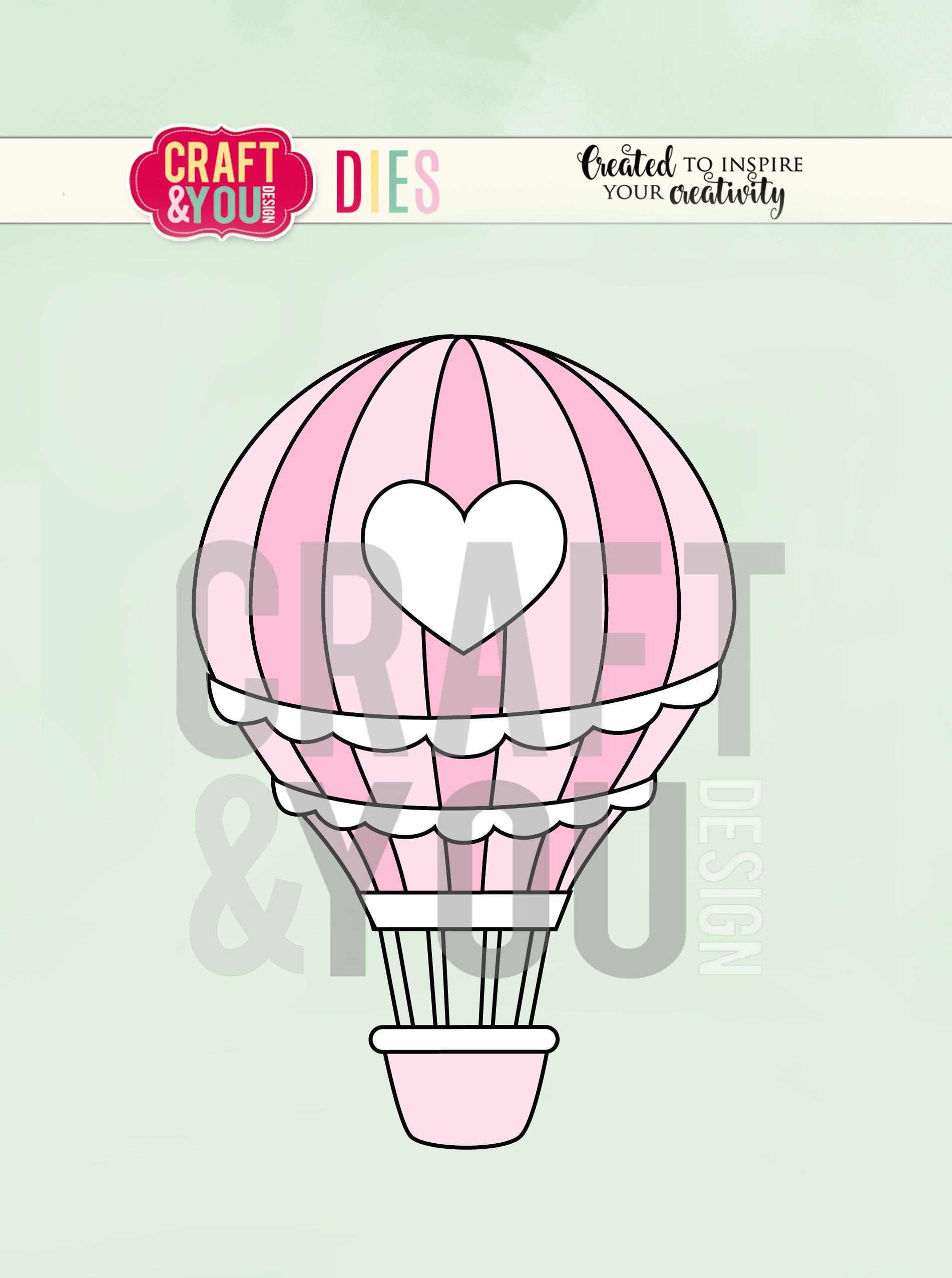 CW089 WYKROJNIK-Baloon - balon Craft&You Design
