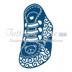 D559 Wykrojnik Tattered Lace- Baby Boy Bootie