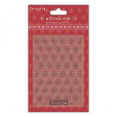 DCEMB003X15 Folder do embossingu Dovecraft Christmas Basics