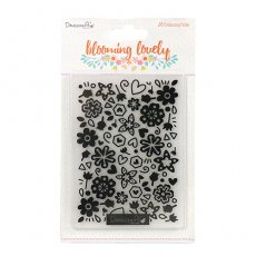 DCEMB006 Folder do embossingu Dovecraft Blooming Lovely