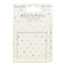 DCPFR004 Dovecraft - Back to Basics - Ozdobne ramki Baby Steps