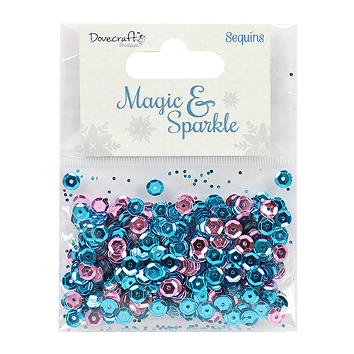 DCSEQ004X16 Cekiny Dovecraft Magic & Sparkle