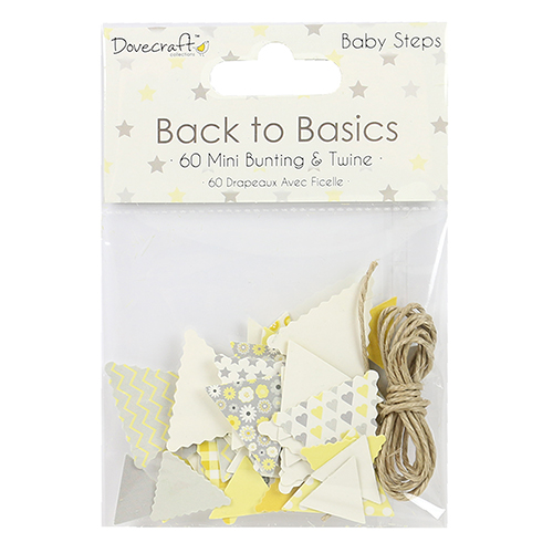 DCTOP062 Dovecraft - Back to Basics - Banerki Baby Steps