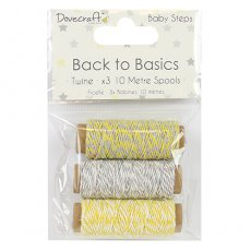 DCTWN003 Dovecraft - Back to Basics - Sznureczki Baby Steps