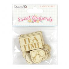 DCWDN061 Sweet Moments - drewniane elementy-Dovecraft