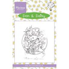 DDS3350 Stempel silikonowy - Don & Daisy - Freeze Frame