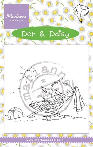 DDS3352 Stempel silikonowy - Don & Daisy - chłopiec Holiday app