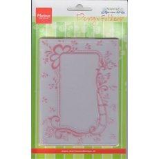 DF3406 Folder do embossingu -Anja's dekoracyjna ramka