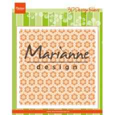 DF3445 Folder do embossingu Marianne Design - Japanese stars