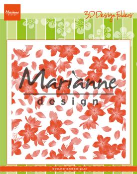 DF3446 Folder do embossingu Marianne Design -Blossom
